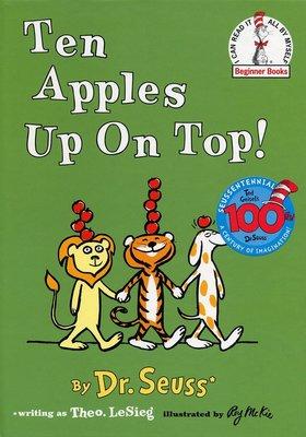 *小貝比的家*TEN APPLES UP ON TOP! / 精裝/3~6歲