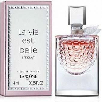 【美妝行】Lancome La vie est belle 蘭蔻 美好人生 女性淡香精 4ml