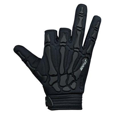[三角戰略漆彈] EXALT DEATH GRIP GLOVE 防護手套 - 黑 ( 漆彈裝備,生存護具,人身部品)