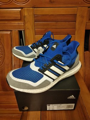 ADIDAS ULTRA BOOST S&L 男女款 輕量 慢跑鞋 UB 反光條 藍灰白 EF1982 全新預購