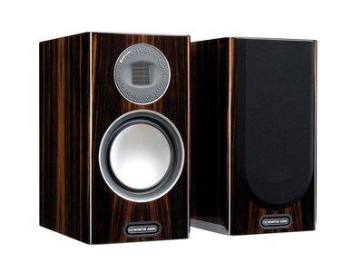 [紅騰音響]英國 Monitor audio Gold 100 GOLD 5G系列 新版 書架喇叭 Piano Ebony 烏木鋼琴烤漆 即時通可議價