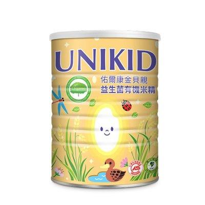 UNIKID佑爾康-金貝親益生菌米精450g(買6送1)