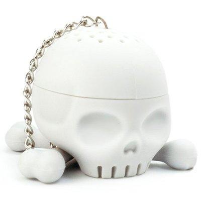 hoobbe 骷髏頭造型泡茶器,有膽來試試! 食品級耐溫矽膠,不含塑化劑,請安心使用
