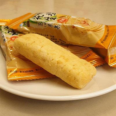 【餅乾糕餅】食材工坊 竹鹽花生芝心米果 (198g/包) ─ 942