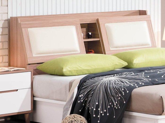 【DH】貨號BC31-1名稱《特詩肯》5尺床頭箱(圖一)木心板.可掀式 置物.備有六尺可選.台灣製可訂做.主要地區免運費