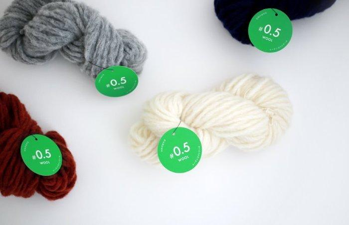 日本Daruma横田#0.5 WOOL粗毛線~5色任選!編織書、手工藝材料、編織工具 、進口毛線【彩暄手工坊】