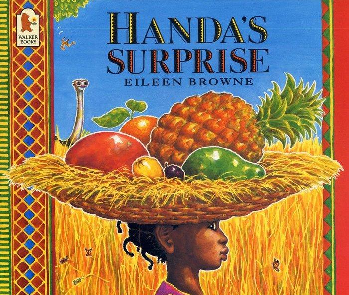 *小貝比的家*HANDA'S SURPRISE【廖彩杏有聲書單】/平裝/4-5歲中班/食物/健康