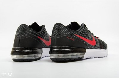 NIKE AIR MAX EFFORT TR  戶外 休閒 運動 慢跑跑步鞋 黑白紅 -