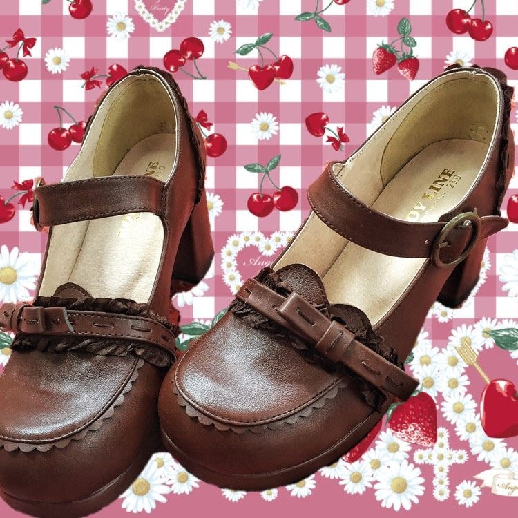 娃娃鞋牛津鞋休閒鞋 日系原創BL蝴蝶結蕾絲洛麗塔軟妹COS學生lolita鞋定制真牛皮