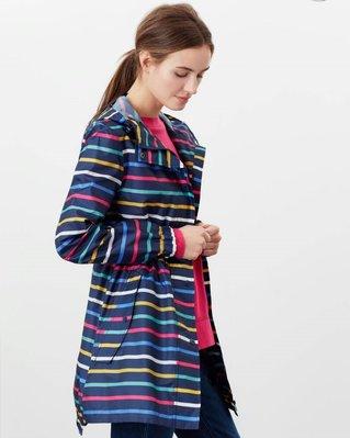 代購 joules女 防水 連帽薄風衣、雨衣 可收納 UK 6~20號