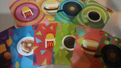麥當勞~文件夾組~大全套10款~只要99元~現貨