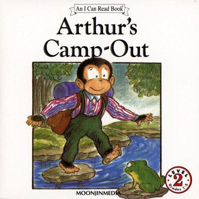 *小貝比的家*ICR: ARTHUR'S CAMP-OUT L2/單CD/汪培珽英文書/7~12歲