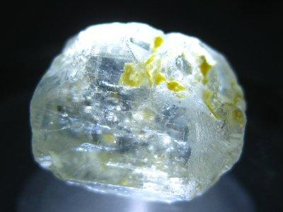 拓帕石 Topaz 天然無燒無處理 自然藍 原礦 標本 礦石 26【Texture & Nobleness 低調與奢華】