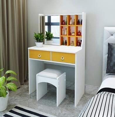 梳妝台臥室簡約現代化妝台 小戶型 經濟型網紅多功能臥室化妝桌 MKS薇薇