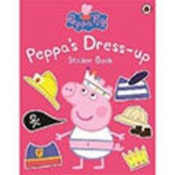 *小貝比的家*PEPPA PIG:PEPPA'S DRESS UP STICKER BOOK//平裝