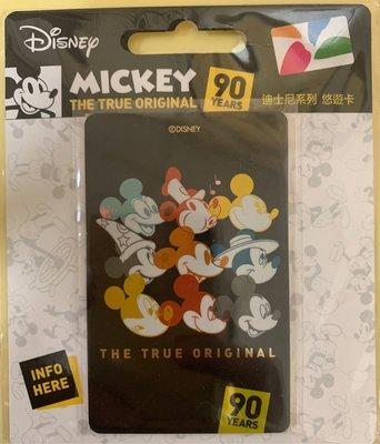 迪士尼悠遊卡-米奇90周年(閃卡) 米奇 米奇90周年紀念卡款 米奇悠遊卡 米奇 一卡通 icash2.0 悠遊卡
