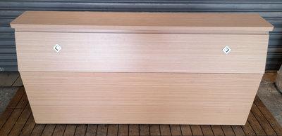 樂居二手家具生活館 台中全新中古傢俱買賣 B0616AJ 白橡五尺床頭櫃 床頭櫃 床頭箱 臥室家具拍賣 台北新竹桃園彰化