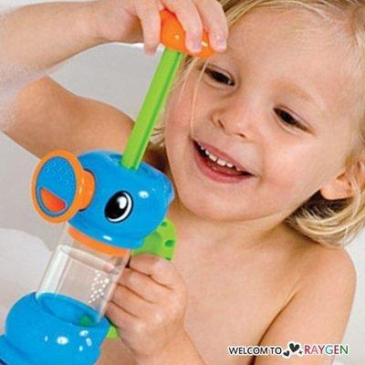 八號倉庫 抽水小海馬水龍頭花灑 寶寶洗澡戲水玩具【3F141Y962】