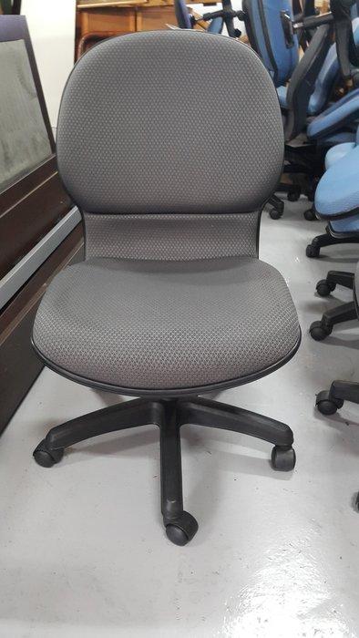 樂居二手家具 家電 全新中古傢俱賣場 CE1027CJJ 灰色布面辦公椅*OA椅 書桌椅 電腦椅 洽談椅 2手辦公家具