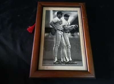 *阿柱的店* 早期 復古 巴爾的摩金鶯隊 Baltimore Ori MLB 球員 美國大聯盟 剪報 裝飾 壁掛 可參考 台南市