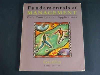 【懶得出門二手書】《Fundamentals of Management》Baker & Taylor Books│七成新(22Z25)