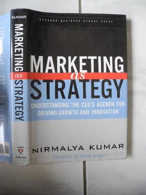 Marketing As Strategy│Nirmalya Kumar│編號:RH