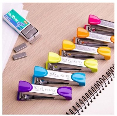 MAX美克司 HD-10 新型訂書機 釘書機 彰化縣
