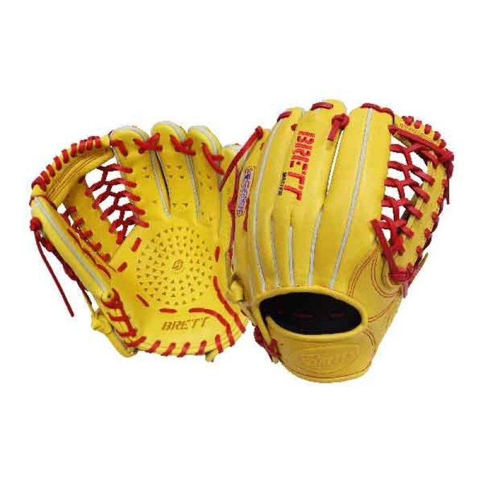 "BRETT GB5系列硬式棒球手套 12.5"" 牛皮 野手手套 棒壘手套 接球面強化 SSK XONNES"