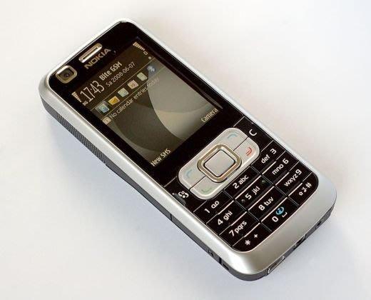 『皇家昌庫』 Nokia 6120 classic 3G..HSDPA 商務智慧手機..經典S60系統 黑白現貨