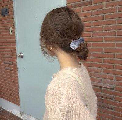ACC日韓專賣~Sunup_Q 現貨 韓國 ins復古絲絨小髮圈~小款~髮圈髮飾 28色 1010
