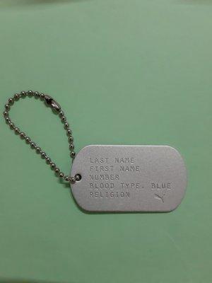 (休閒部屋)PUMA軍牌風格金屬吊飾鑰匙圈