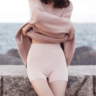 襪子 夏季新款女士竹纖維透氣無縫塑性三分高腰安全褲抗起球舒適打底褲