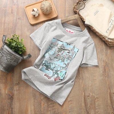 【Mr. Soar】 G347 夏季新款 歐美style童裝男童短袖T恤 中大童 現貨
