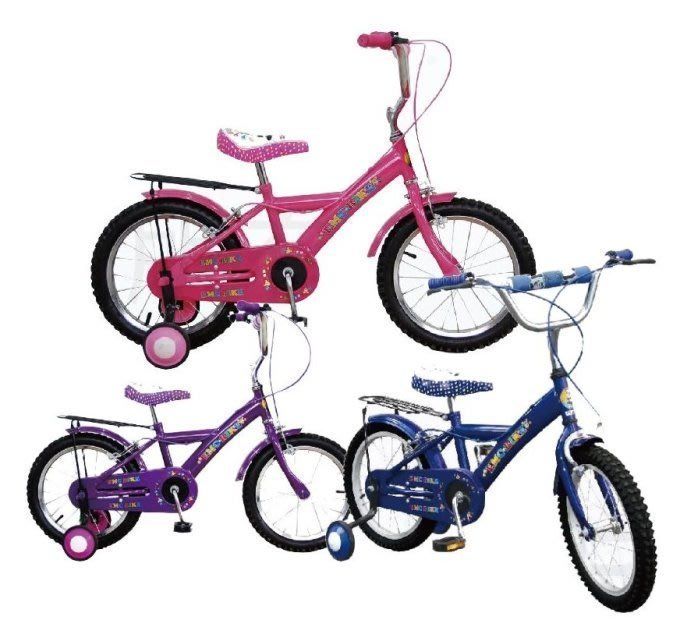 @企鵝寶貝二館@ EMC- 小熊貓 16吋兒童腳踏車 / 童車 / 自行車-台灣製造