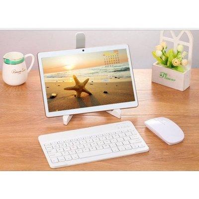 【送鍵盤+滑鼠 】10英吋平板電腦 4G雙卡通話八核128GB/IPS高清屏GPS平板電腦