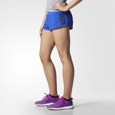 ADIDAS GYM 愛迪達 藍色 運動 瑜珈 慢跑 路跑 短褲 三分褲 熱褲 馬拉松 AY7268 請先詢問庫存