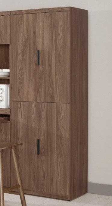 【DH】商品貨號G922-6商品名稱《爾艾諾》6尺高四門收納櫃(圖一)附四片活動層板。簡約雅緻經典。主要地區免運費