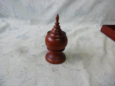 紫色小館38--------正清老品海南黃花梨木塔