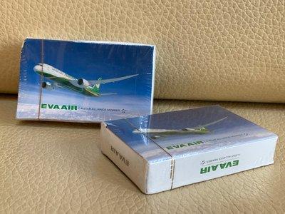 長榮航空 EVA AIR A STAR ALLIANCE MEMBER 星空聯盟 02 撲克牌 收藏  航空迷 飛機