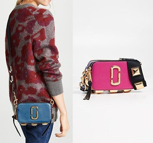 ◎美國代買◎Marc Jacobs Snapshot Studs大方形鉚釘裝飾斜肩背相機包~歐美時尚~大尺碼