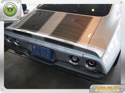 泰山美研社 D7896 1970 Chevrolet Camaro 排氣管 國外進口