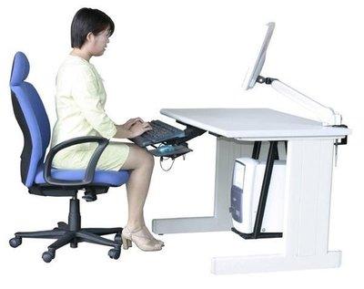 「家と生活」人體工學可調式鍵盤 / 滑鼠置放架 鍵盤組 FC-2150 ( 鐵質 + 矽膠靠腕 ) /不適用超商取貨