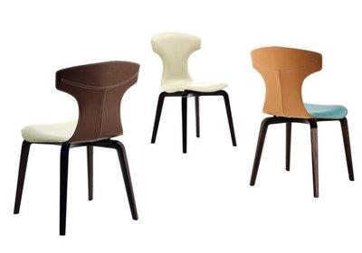[米蘭諾家具]近原裝Poltrona Frau montera chair 設計師經典款 實木訂製款 台灣訂製