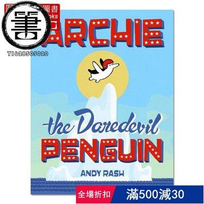 Archie the Daredevil Penguin/9780451471239進口 英文原版 書籍【聖賢書齋】