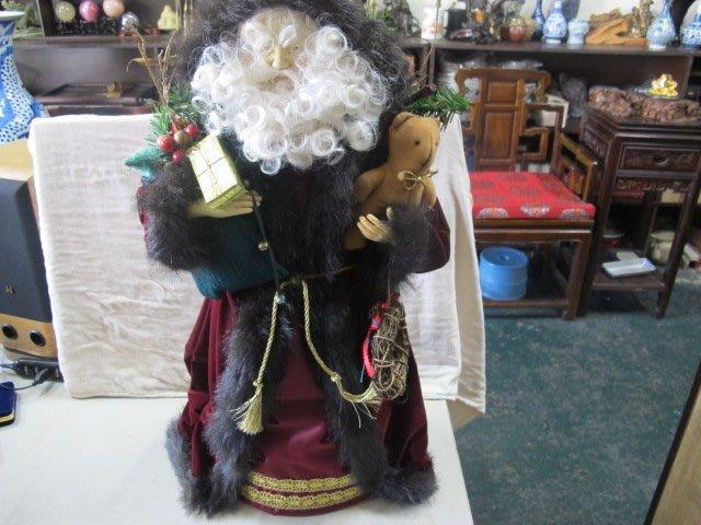 二手舖 NO.995 聖誕老公公 玩偶擺飾 原價3600 現在特價500