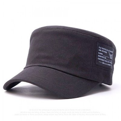 Ocean Shop 《韓國進口.正韓.韓製─TO25─單邊大Mark中性款軍帽(可調整款)》現貨(背面可調整)