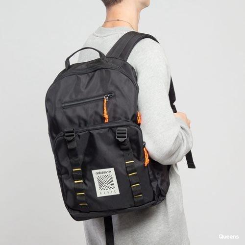 玉米潮流本舖 ADIDAS ORIGINALS 三葉草 黑色 後背包 DH3268