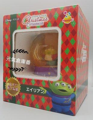 超絕版 2014聖誕節限定 迪士尼 三眼怪 雪花球 玩具總動員 - 三眼仔 雪花球 水晶球 冬季款