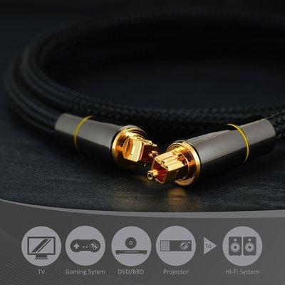 發仔 ~ 線長 1米 數位光纖音源線 SPDIF輸出線 5.1聲道功放音響光纖連接線 G2307 屏東縣