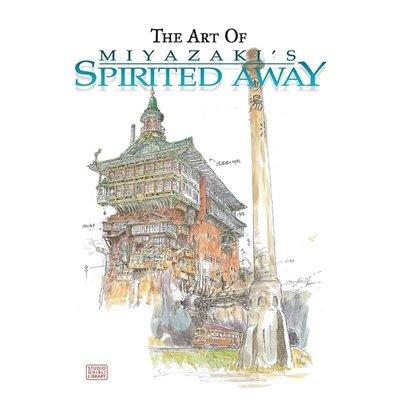 外文書店千與千尋設定集 宮崎駿電影設定集 英文原版 The Art of Spirited Away Hayao M@yi88378